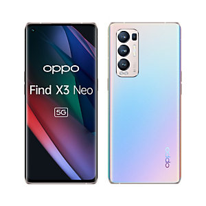 """Oppo Find X3 Neo , 16,6 cm (6.55""""), 12 Go, 256 Go, 50 MP, ColorOS 11.1, Argent FINDX3NEOS"""