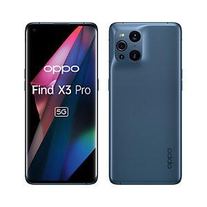 "OPPO Find X3 Pro , 17 cm (6.7""), 12 Go, 256 Go, 50 MP, ColorOS 11.2, Bleu 5991400"