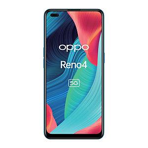 """OPPO Reno 4 5G, 16,3 cm (6.4""""), 8 Go, 128 Go, 48 MP, ColorOS 7.2, Bleu 6158122"""