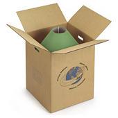 Opruiing: Dubbelgolf doos met handgrepen