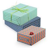 Opruiming: Geschenkpapier Retro uit 100% gerecycleerd kraftpapier