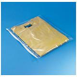 Opruiming: Plastic zak met zipsluiting, polyethyleen 70 micron