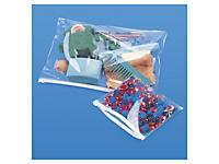 Opruiming: Polypropyleenzakjes met zipsluiting 75 micron 17x22 cm##Opruiming: Polypropyleenzakjes met zipsluiting 75 micron 17x22 cm