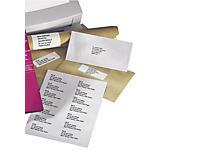 Opruiming: Veelzijdige zelfklevende etiketten per 100 vellen