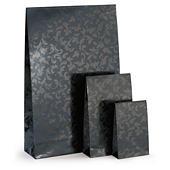 Opruiming: zwart geschenkzakje met zelfklevende sluiting