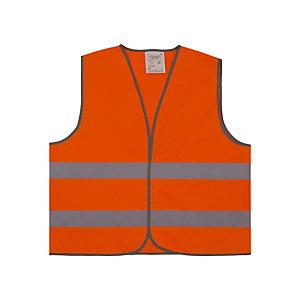 Oranje signalisatievest 2 stroken XL