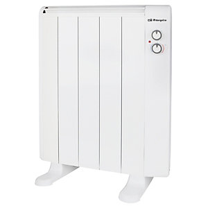 Orbegozo RRM 810 Emisor térmico, potencia máxima de 800W, 5 elementos, blanco