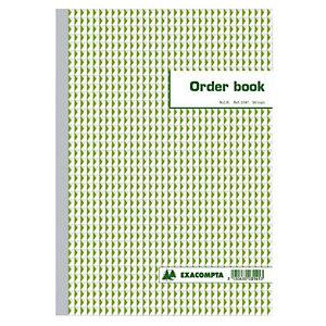 Order Books gelijnd 2 exemplaren model B3140 formaat 29.7x 21 cm Exacompta