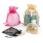 Organza drawstring bags