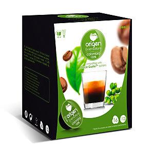 origen & sensations Colombia 100% Cápsulas de café, tostado medio, 16 dosis, 112 g