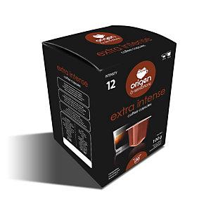 origen & sensations Extra Intenso Cápsulas de café, tostado intenso, 20 dosis, 100 g