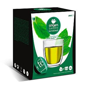 origen & sensations Marrakesch Té verde en cápsulas, 16 dosis, 64 g