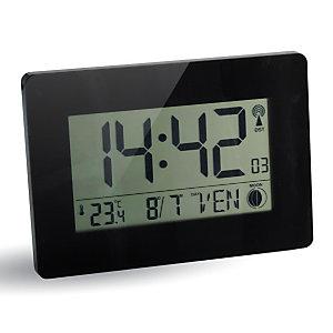 ORIUM Horloge digitale radio-pilotée- Noir