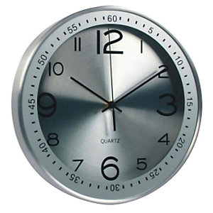 Orologio da parete in alluminio - Diametro cm 30,5