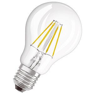 OSRAM Ampoule Led Parathom Classic A 40, 4 W 2700 E27, claire, Osram