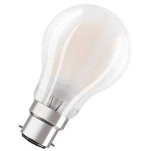 OSRAM Ampoule Led Parathom Classic A 60, 7 W 2700 B22d, dépolie, Osram