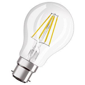 OSRAM Ampoule Led Parathom Classic A 60, 7 W 827 B22d, claire, Osram