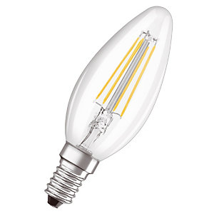 OSRAM Ampoule Led Parathom Classic B 40, 4 W 2700 E14, claire, Osram