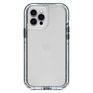 "Otterbox LifeProof NEXT Series para Apple iPhone 12 Pro Max, transparente/azul, Funda, Apple, iPhone 12 Pro Max, 17 cm (6.7""), Azul, Transparente 77-65475"