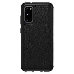 """OtterBox Strada pour Samsung Galaxy S20, noir, Étui avec portefeuille, Samsung, Galaxy S20, 15,8 cm (6.2""""), Noir 77-64497"""