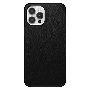"Otterbox Strada Series para Apple iPhone 12 Pro Max, negro, Funda cartera, Apple, iPhone 12 Pro Max, 17 cm (6.7""), Negro 77-65468"