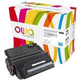 OWA 38X - Q1338X, Tóner remanufacturado compatible con HP, Negro, Alta capacidad