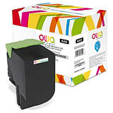 OWA Toner d'encre remanufacturé, compatible pour LEXMARK 70C2HK0 - Noir