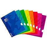 Oxford Classic OpenFlex Cuaderno grapado, A4, rayado, 48 hojas, cubierta de polipropileno, colores surtidos