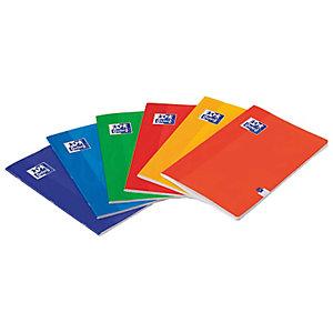Oxford Cuaderno-libreta, A4, rayado horizontal, 48 hojas, cubierta cartón plastificado, colores surtidos