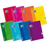 Oxford Cuaderno-libreta Openflex tapas de plástico 48 hojas cuadriculado 5x5 colores surtidos Formato A5