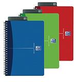 Oxford Essentials Cuaderno, A5, cuadriculado, 90 hojas, cubierta blanda cartón, colores surtidos