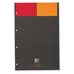 Oxford International, carnet A4+ agrafé, couverture souple, 160 pages 80 g/m², petits carreaux 5x5 mm, compatible SCRIBZEE®