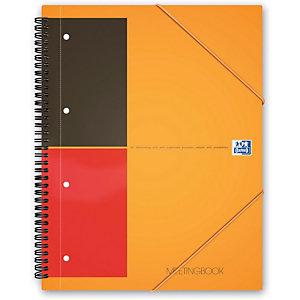 Oxford International Meetingbook, Blocco a spirale doppia A4+, 80 fogli/160 pagine a righe, 80 g/m²