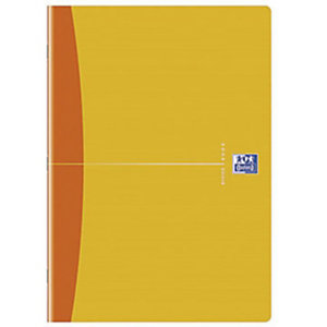 Oxford Office Essentials cahier à piqûre A4, 96 pages, quadrillé 5x5mm<BR>