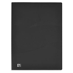 Oxford Protège-documents Osmose A4, 40 pochettes en polypropylène - Couverture opaque noire