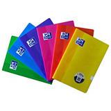 Oxford School Classic Cuaderno grapado, A4, 48 hojas, cubierta blanda, colores surtidos