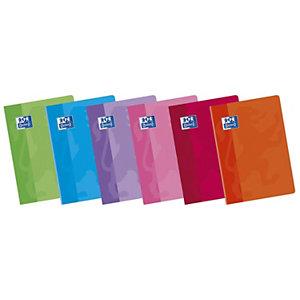 Oxford School Classic Cuaderno grapado, A4, rayado, cubierta blanda, colores surtidos