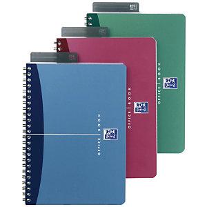 Oxford Urban Mix Cuaderno, A4, cuadriculado, 90 hojas, cubierta polipropileno, colores surtidos, compatible con SCRIBZEE®