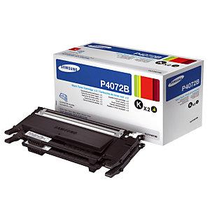 Pack 2 toners Samsung P4072B noir pour imprimantes laser