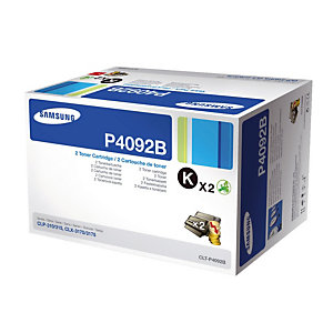 Pack 2 toners Samsung  P4092B zwart voor laser printers