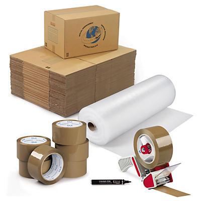 Pack déménagement avec 40 caisses
