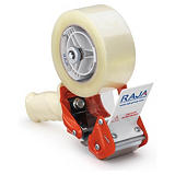 Pack dévidoir + adhésif industriel PVC 32 microns RAJA