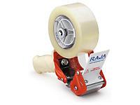 Pack dévidoir + adhésif industriel PVC 32 microns RAJATAPE