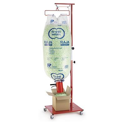 Pack flo-pak® NATURAL + distributeur##Set flo-pak®  NATURAL mit Abfüllvorrichtung