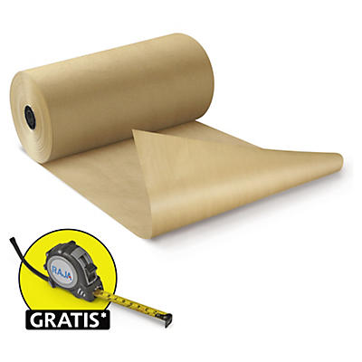 Packpapiere auf der Rolle, 100% recycelt