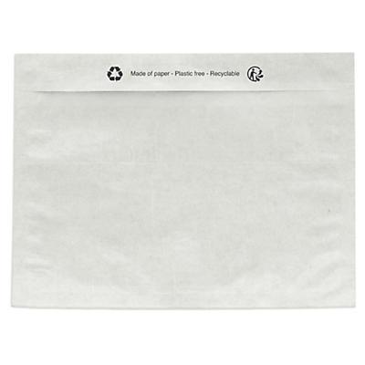 Packsedelskuvert - Tillverkad av kristall-och silikonbelagt papper