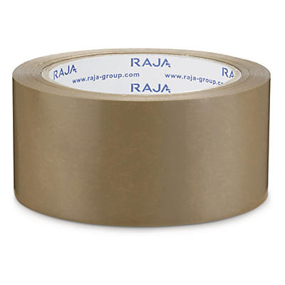 Packtejp PVC - Rajatape - Bra häftämne av naturgummi