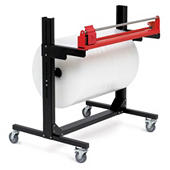 PACPLAN build your own packing station – mobile cutter and stand