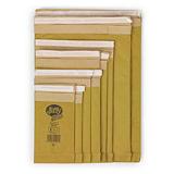 Padded, self-seal gold Jiffy Green bags
