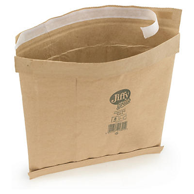 Padded, self-seal Kraft Jiffy Green bags